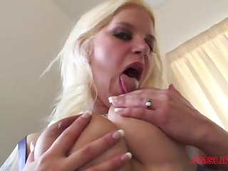 Busty Cherry Treats craving for a stranger's penis deep inside her