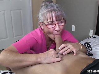 Granny still sucks dick like a pro despite her age