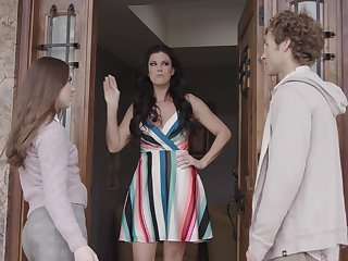 Misbehaving MILF India Summer takes a forbidden younger lover