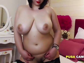 Mature with Huge Tits Saggy But so Beautiful and she is Maid!