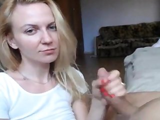 Blue Eyes Blonde Hot Blowjob